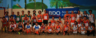 Players BDO EC Footvolley
