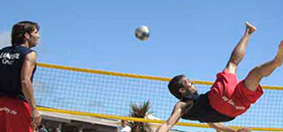 Footvolley VO en Beachvolley VO